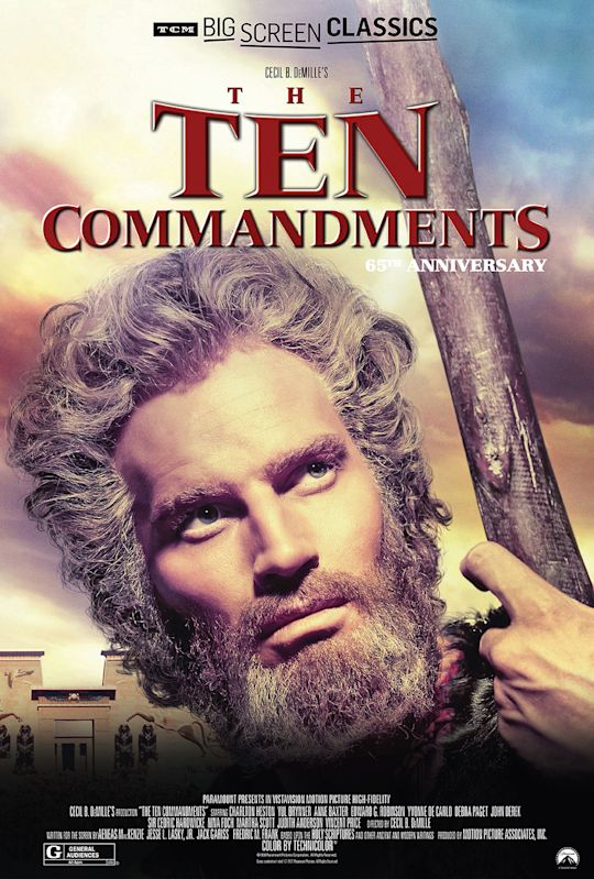 The Ten Commandments 65th Anniversary