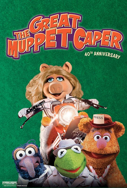 The Great Muppet Caper 40th Anniversary