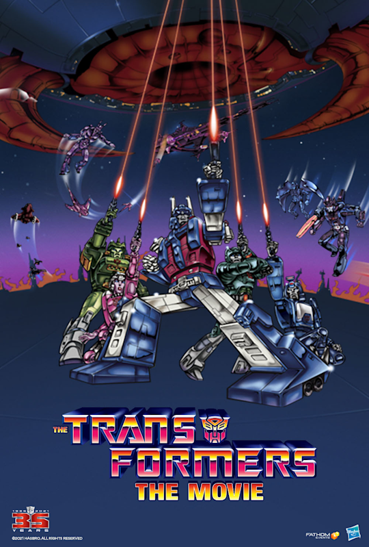 The Transformers: The Movie 35th Anniversary