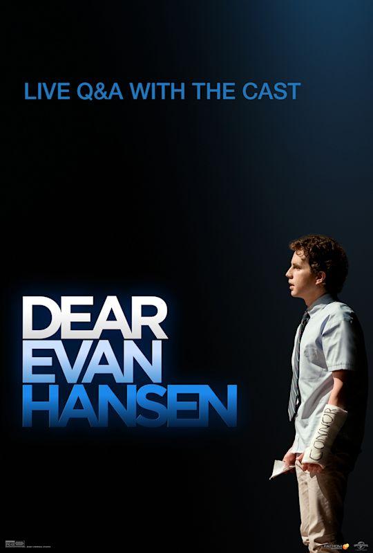 Dear Evan Hansen Live Q&A with Cast